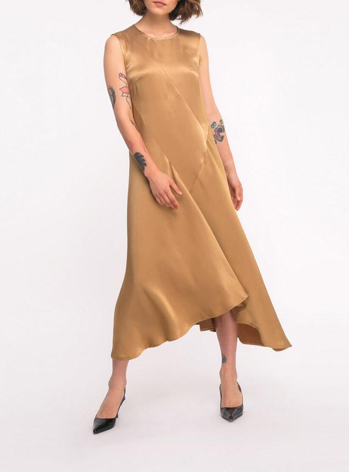 Платье с асимметричным низом SHKO_19043002, фото 1 - в интеренет магазине KAPSULA