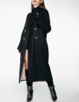 Двубортное пальто c рукавом реглан WNDR_fw1920_cgrbl02, фото 7 - в интеренет магазине KAPSULA