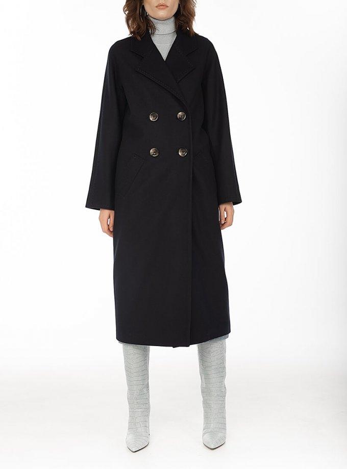 Двубортное пальто c рукавом реглан Black WNDR_fw1920_cblck02, фото 1 - в интернет магазине KAPSULA
