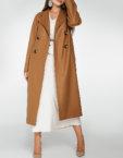 Двубортное пальто c рукавом реглан WNDR_fw1920_cs02, фото 8 - в интеренет магазине KAPSULA