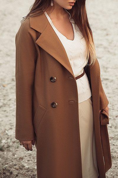 Двубортное пальто c рукавом реглан WNDR_fw1920_ccam02, фото 1 - в интеренет магазине KAPSULA