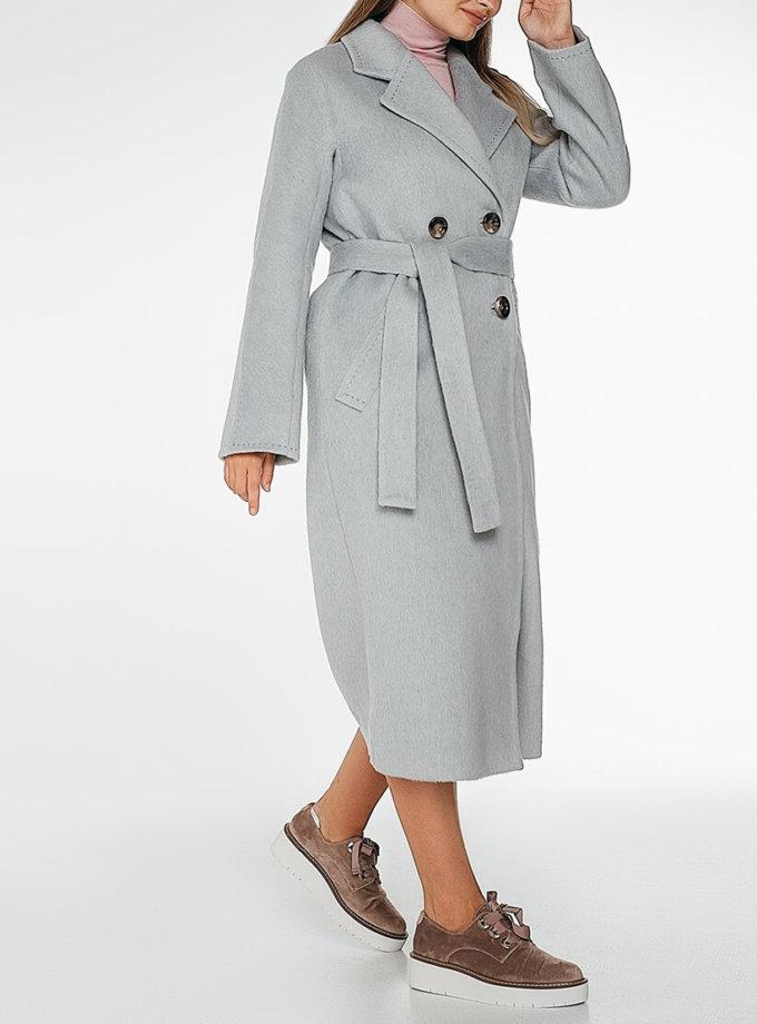 Двубортное пальто c рукавом реглан Blue WNDR_fw1920_cgrbl02, фото 1 - в интернет магазине KAPSULA