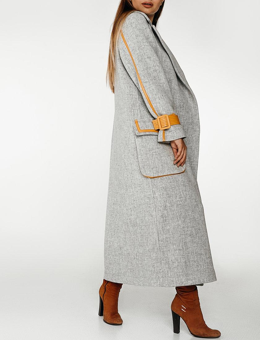 Шерстяное пальто с контрастными вставками WNDR_fw1920_cgy03, фото 1 - в интеренет магазине KAPSULA