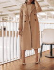 Двубортное пальто c рукавом реглан WNDR_fw1920_cblck02, фото 5 - в интеренет магазине KAPSULA