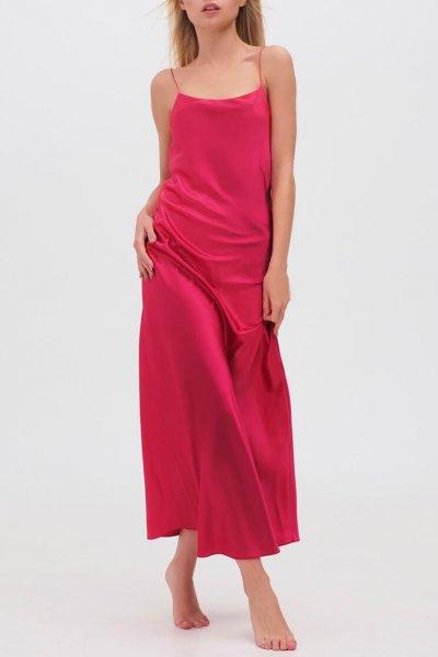 Платье на тонких бретельках MISS_DR-021-red, фото 1 - в интеренет магазине KAPSULA