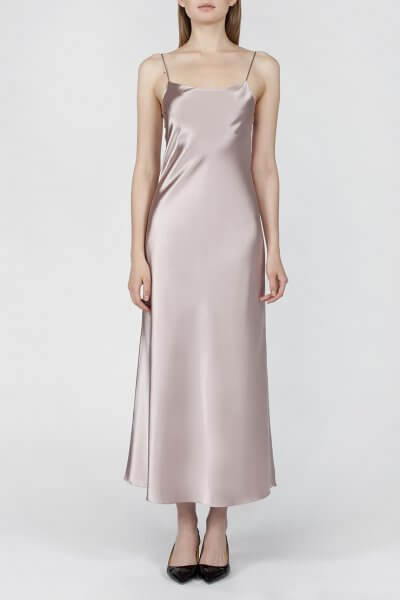Платье на тонких бретельках MISS_DR-021-beige, фото 3 - в интеренет магазине KAPSULA