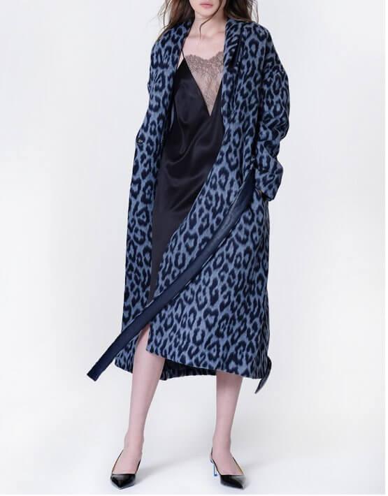Пальто на запах из шерсти альпаки MISS_JA-011, фото 7 - в интеренет магазине KAPSULA