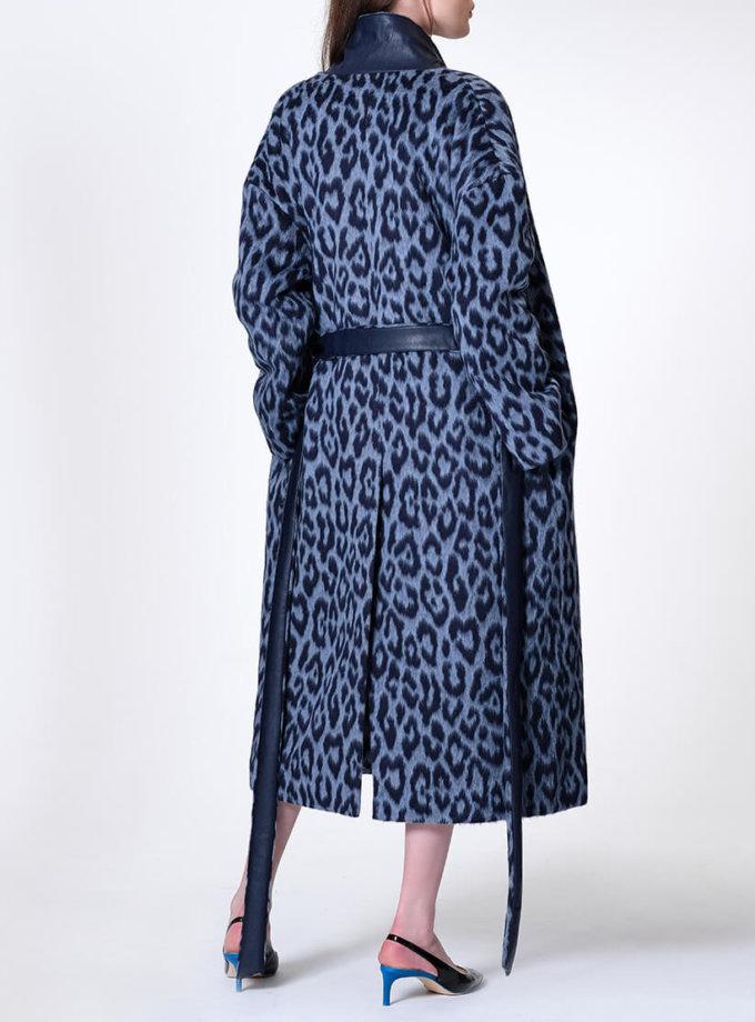 Пальто на запах из шерсти альпаки MISS_JA-011, фото 1 - в интеренет магазине KAPSULA