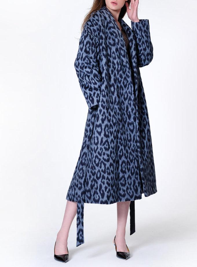 Пальто на запах из шерсти альпаки MISS_JA-011, фото 1 - в интернет магазине KAPSULA