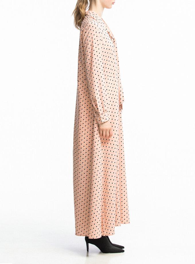 Платье макси свободного кроя ALOT_100351, фото 1 - в интернет магазине KAPSULA