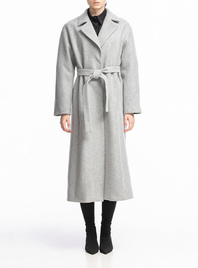 Пальто из шерсти на запах ALOT_500135, фото 1 - в интернет магазине KAPSULA