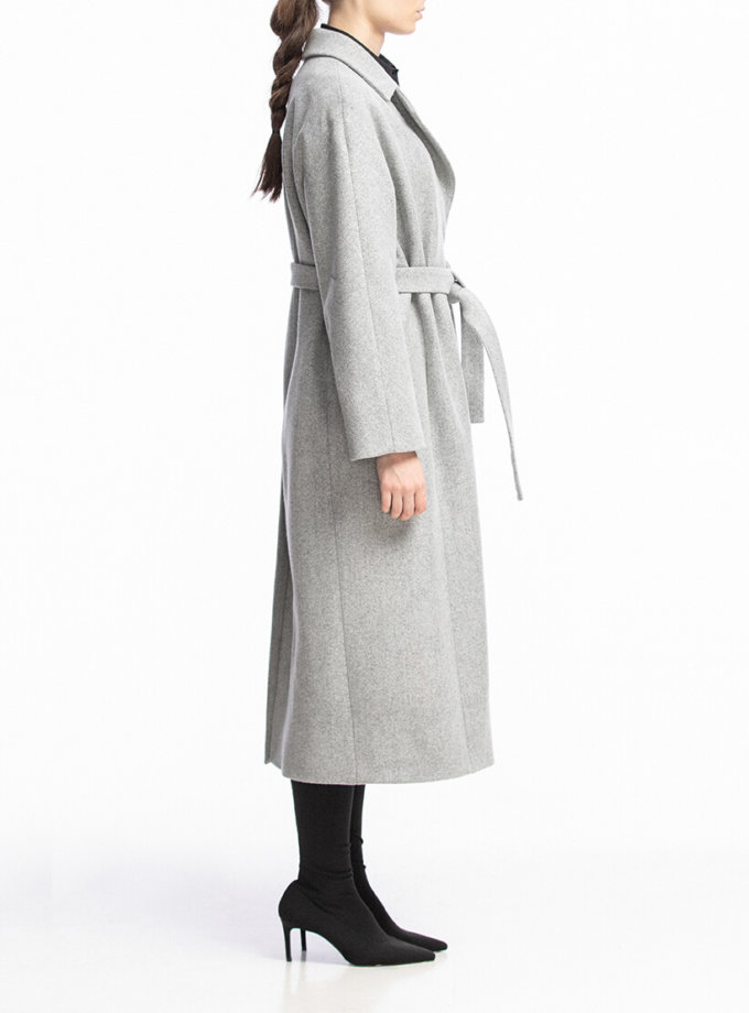 Пальто из шерсти на запах ALOT_500135, фото 1 - в интеренет магазине KAPSULA