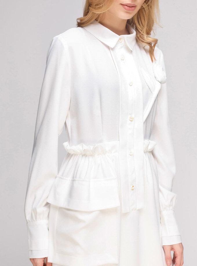 Платье миди с накладным карманом AY-2842, фото 1 - в интеренет магазине KAPSULA