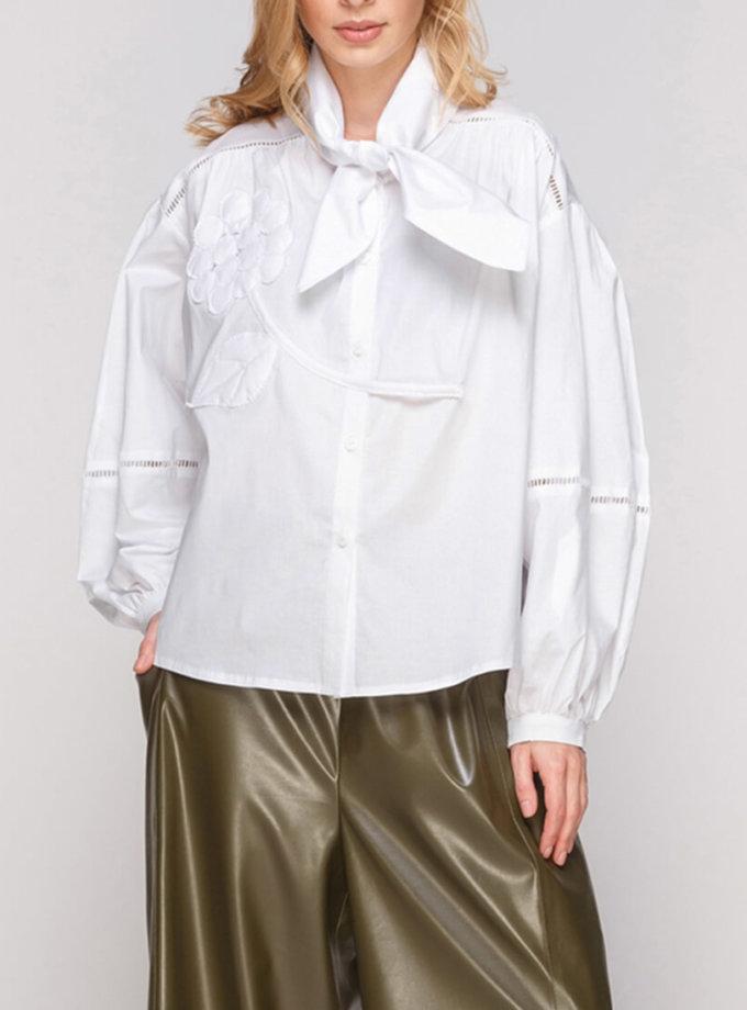 Рубашка с декором AY-2844, фото 1 - в интернет магазине KAPSULA