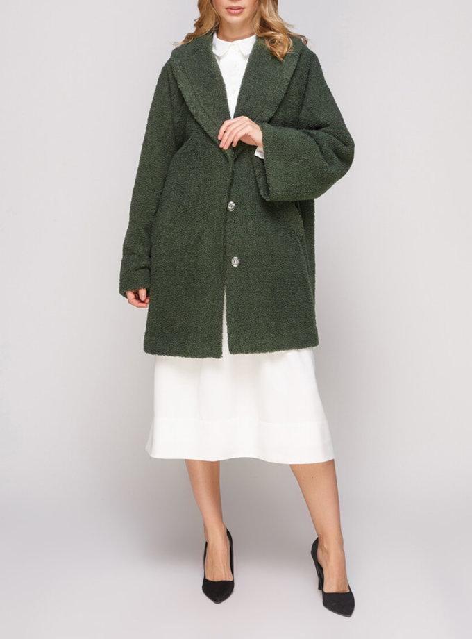 Пальто прямого кроя AY_2847_outlet, фото 1 - в интернет магазине KAPSULA