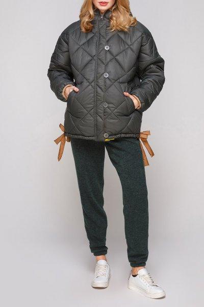 Укороченная куртка с утеплителем AY_2864, фото 1 - в интеренет магазине KAPSULA