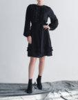 Шелковое платье на подкладе CYAN_DS_M03, фото 7 - в интеренет магазине KAPSULA