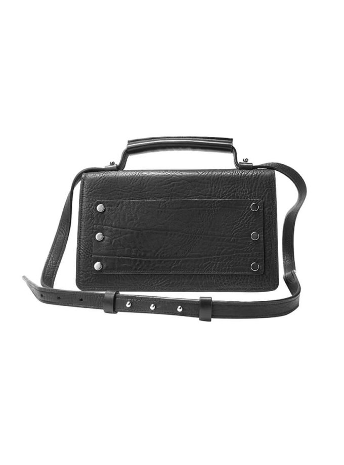 Кожаная сумка BONY KLNA_Bony_black, фото 1 - в интеренет магазине KAPSULA