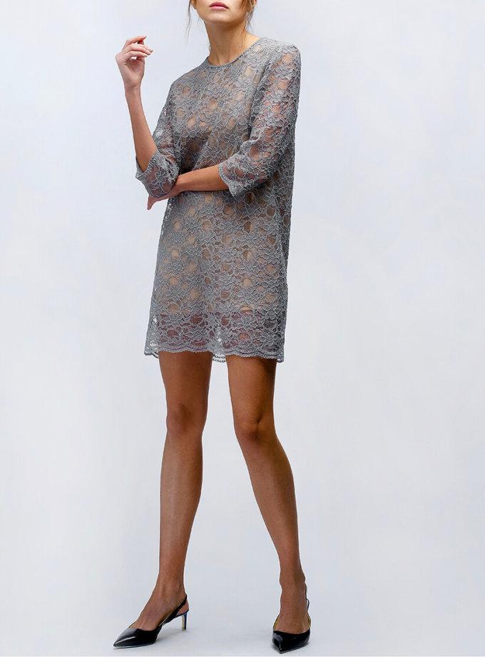 Коктельное платье на подкладке MISS_DR-007-gray_outlet, фото 1 - в интернет магазине KAPSULA