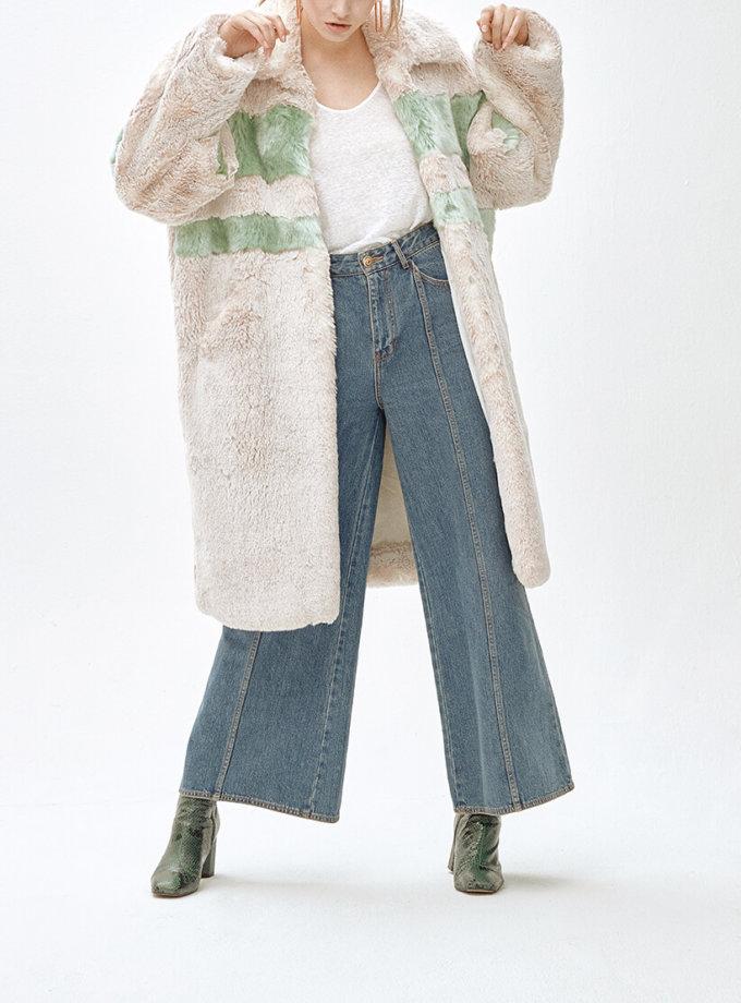 Пальто из искусственного меха  ANGIE MLL_MW9WCT01Xg_outlet, фото 1 - в интеренет магазине KAPSULA