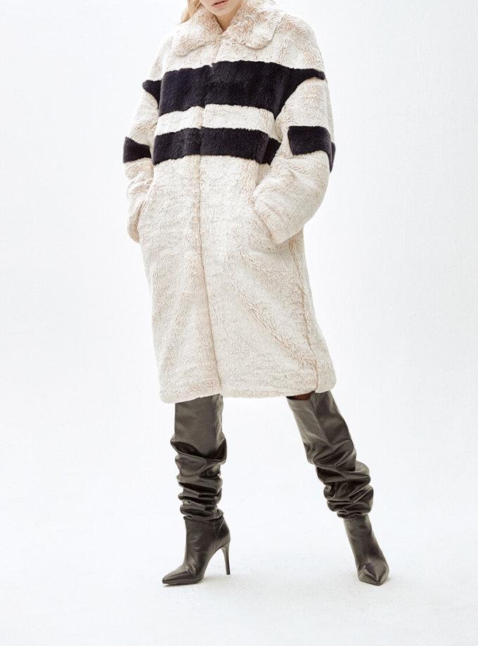 Пальто из искусственного меха  ANGIE MLL_MW9WCT01Xn_outlet, фото 1 - в интеренет магазине KAPSULA