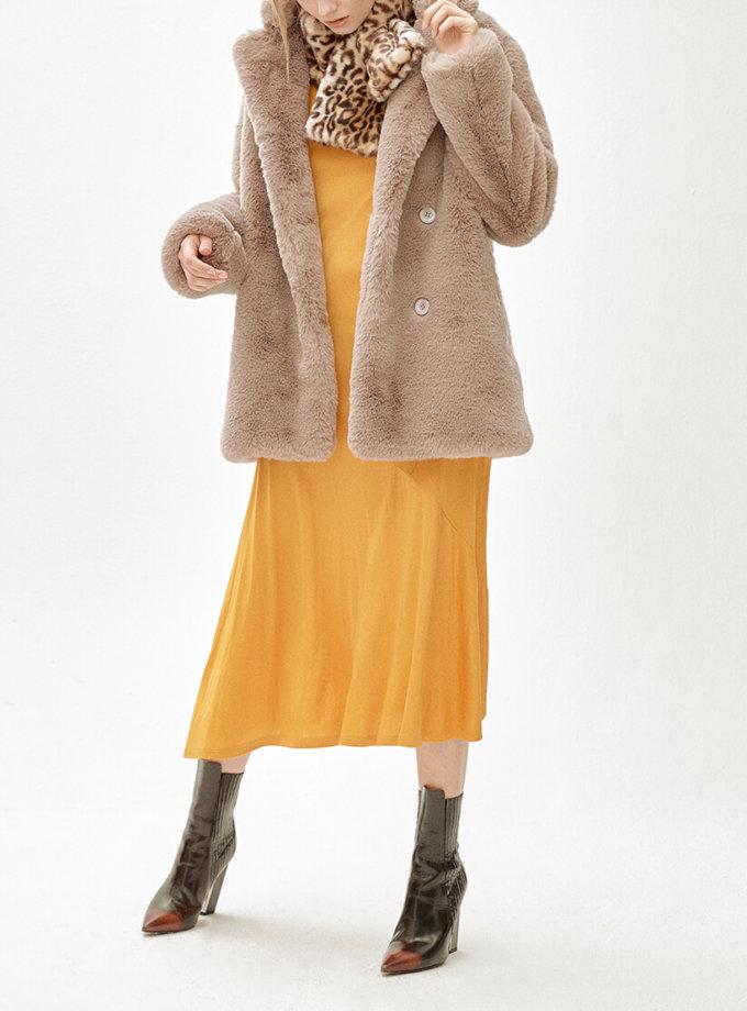 Пальто из искусственного меха   J.XIA MLL_MW9WCT02Xc_outlet, фото 1 - в интеренет магазине KAPSULA
