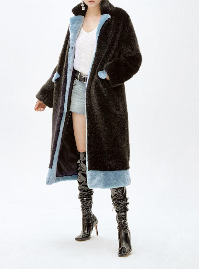 Пальто из искусственного меха ANTHRO LUNGO MLL_MW9WCT03X_outlet, фото 1 - в интеренет магазине KAPSULA