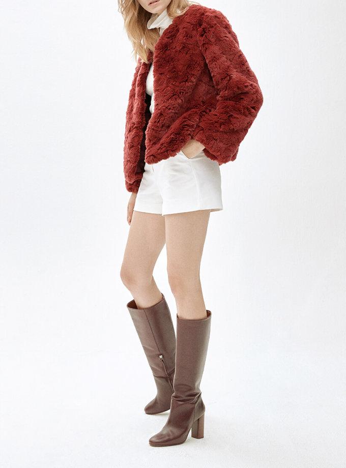 Жакет из искусственного меха LIZ MLL_MW9WJK01Xr_outlet, фото 1 - в интеренет магазине KAPSULA