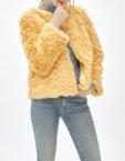Пальто с брошкой LIU MLL_MW9WCT04X_outlet, фото 4 - в интеренет магазине KAPSULA