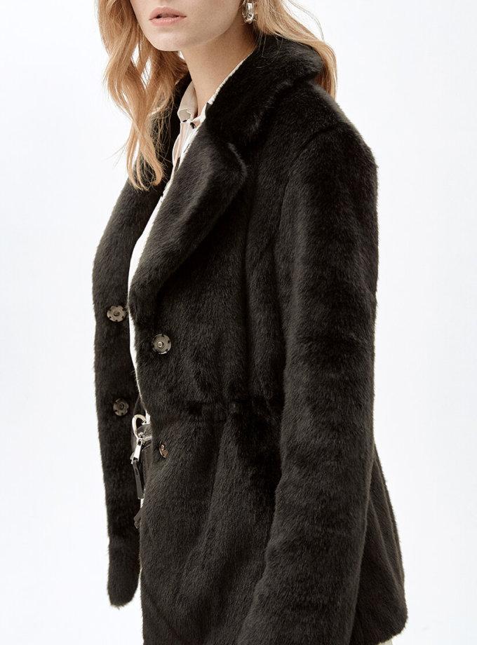Жакет из искусственного меха JACKY MLL_MW9WJK03Xb_outlet, фото 1 - в интеренет магазине KAPSULA