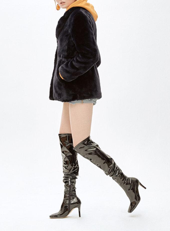 Жакет из искусственного меха JACKY MLL_MW9WJK03Xn_outlet, фото 1 - в интеренет магазине KAPSULA