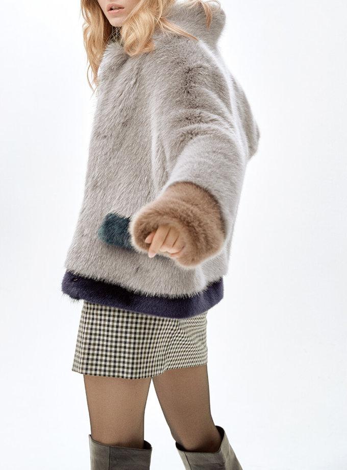 Жакет из искусственного меха ANTHRO MLL_MW9WJK09X_outlet, фото 1 - в интеренет магазине KAPSULA