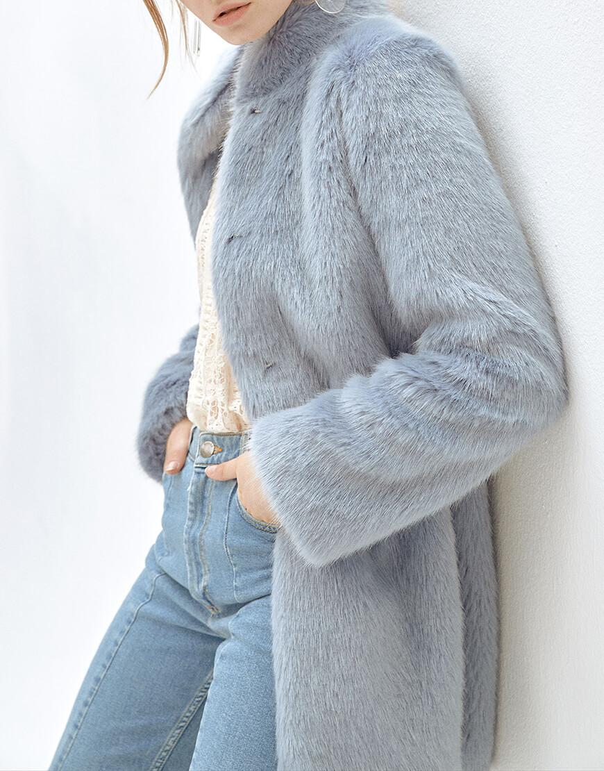 Пальто из искусственного меха SOPHIE MLL_MW9WJK10Xb, фото 1 - в интеренет магазине KAPSULA