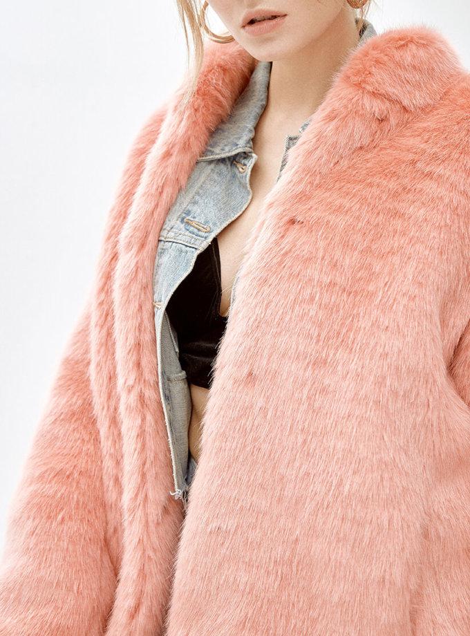 Пальто из искусственного меха SOPHIE MLL_MW9WJK10Xc_outlet, фото 1 - в интеренет магазине KAPSULA