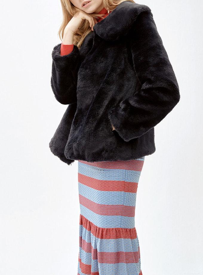 Жакет из искусственного меха SUYAN MLL_MW9WJK13Xn_outlet, фото 1 - в интеренет магазине KAPSULA