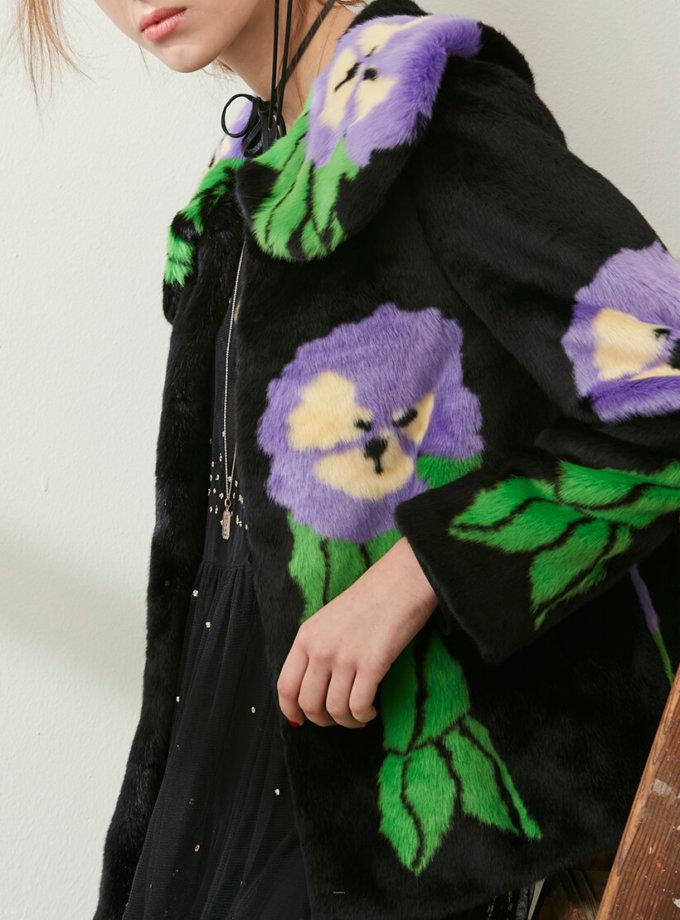 Жакет из искусственного меха BLOSSOM MLL_m0024b_outlet, фото 1 - в интеренет магазине KAPSULA