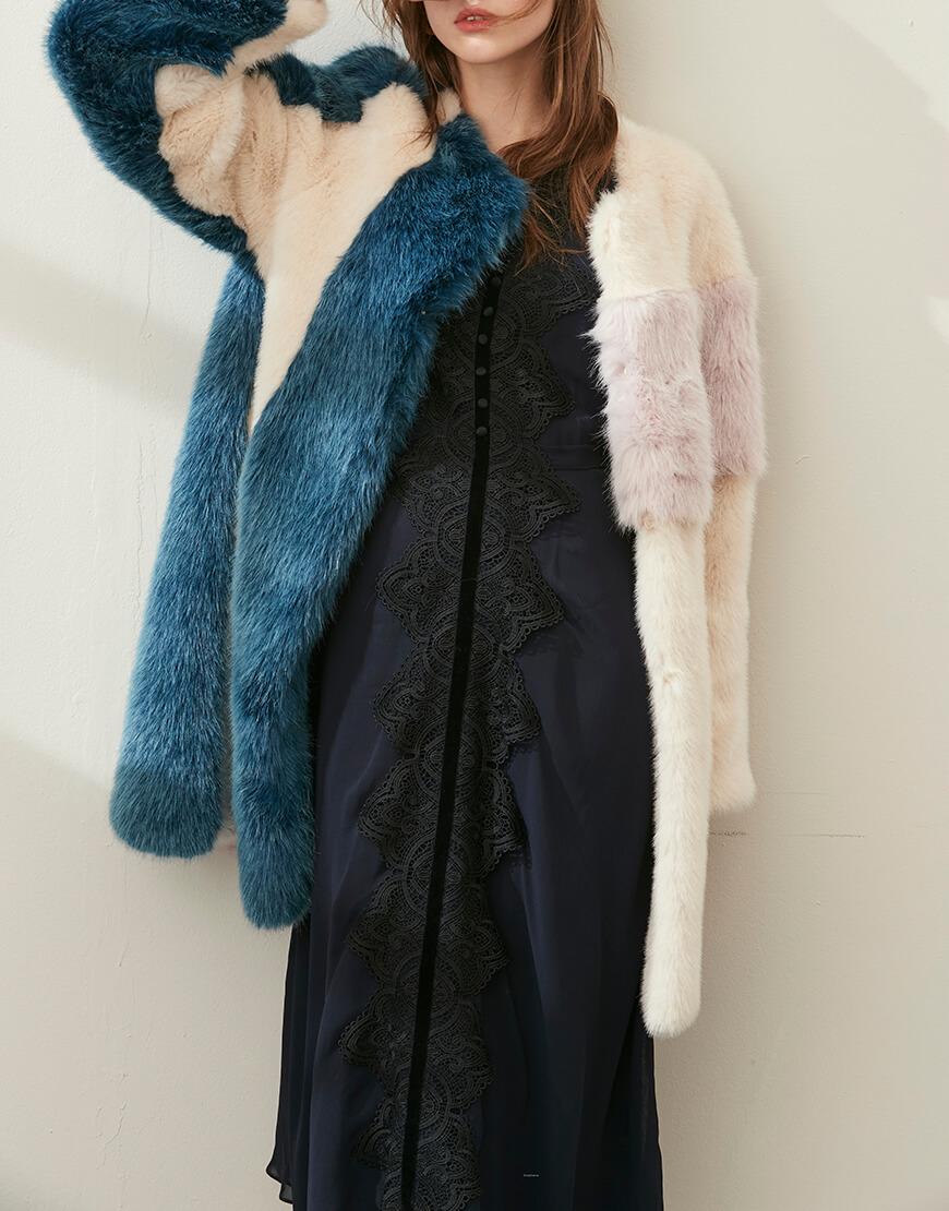 Пальто из искусственного меха LUA MLL_m0027l, фото 9 - в интеренет магазине KAPSULA