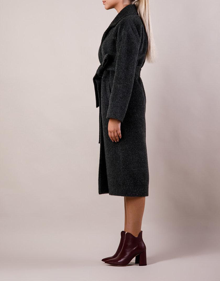 Пальто утепленное из шерсти MMT_024.-swamp, фото 1 - в интернет магазине KAPSULA