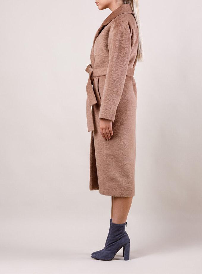 Пальто утепленное из шерсти MMT_024.-caramel, фото 1 - в интернет магазине KAPSULA