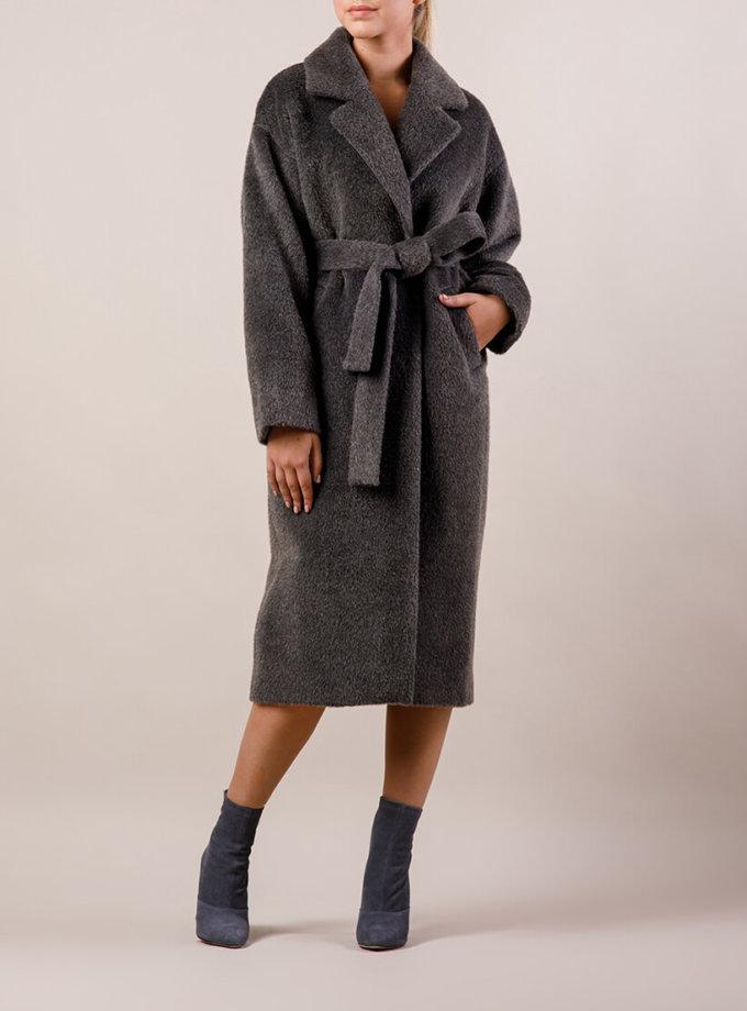 Пальто утепленное из шерсти MMT_024.-darck gray, фото 1 - в интеренет магазине KAPSULA