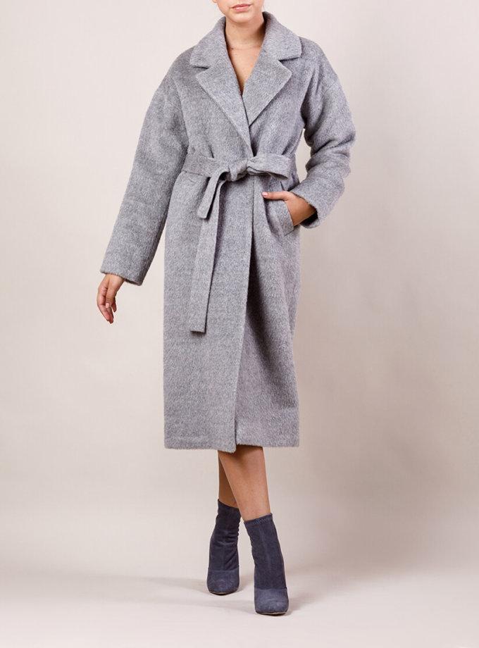 Пальто утепленное из шерсти MMT_024.-light gray, фото 1 - в интеренет магазине KAPSULA