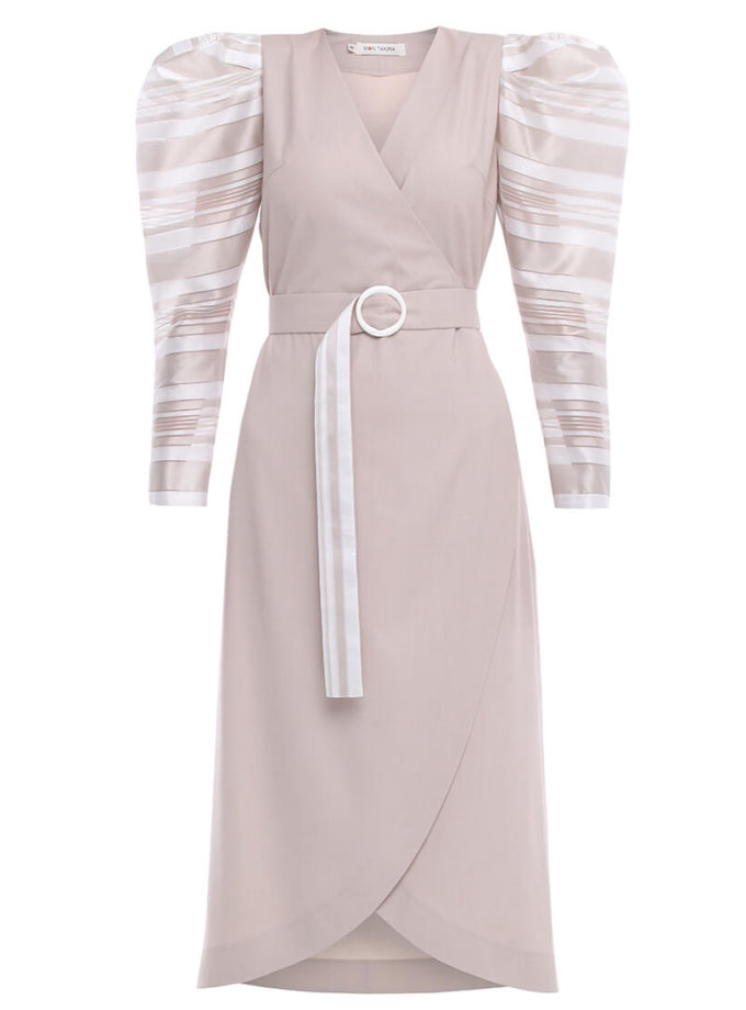 Платье на запах MNTK_MTDRS201, фото 1 - в интеренет магазине KAPSULA