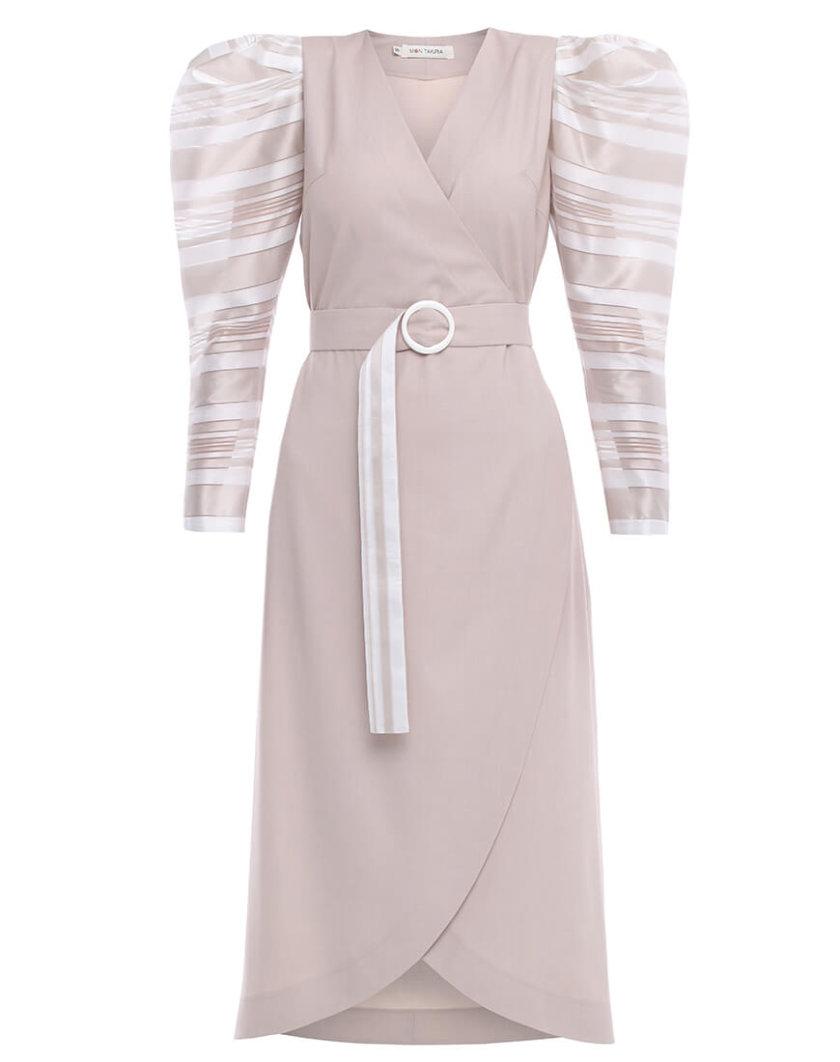 Платье на запах MNTK_MTDRS201, фото 1 - в интернет магазине KAPSULA
