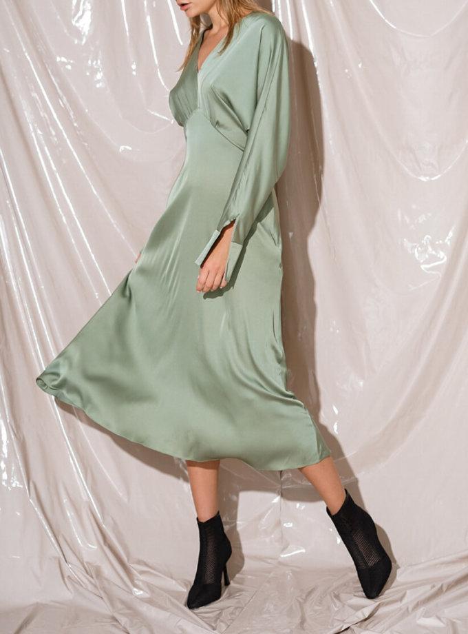 Шелковое платье миди NVL_Fw19_1, фото 1 - в интеренет магазине KAPSULA