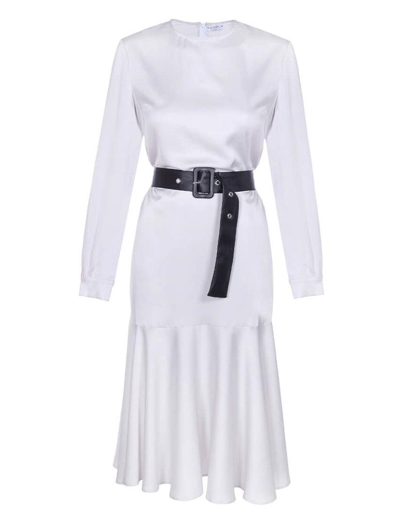 Шелковое платье миди NVL_Fw19_6, фото 1 - в интернет магазине KAPSULA