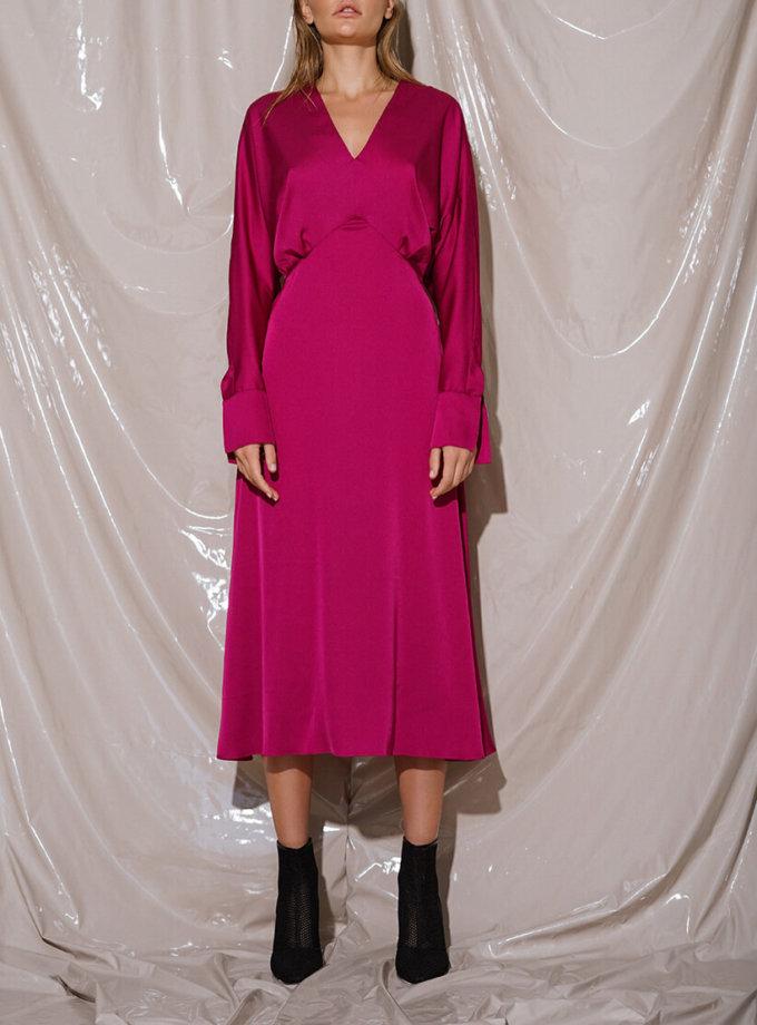 Шелковое платье миди NVL_Fw19_8, фото 1 - в интеренет магазине KAPSULA
