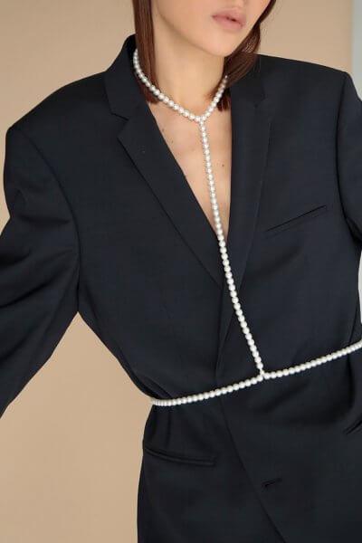 Колье pearlina с жемчугом Preciosa SMKSH_pearlina, фото 1 - в интеренет магазине KAPSULA