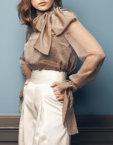 Прямые брюки с шерсти SOL_SOW2019T10, фото 3 - в интеренет магазине KAPSULA