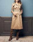 Пальто с поясом из альпаки SOL_SOW2019C09, фото 3 - в интеренет магазине KAPSULA