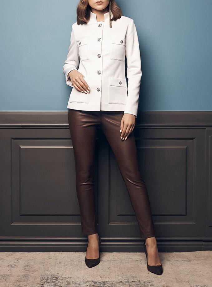Жакет с накладными карманами SOL_SOW2019J07, фото 1 - в интернет магазине KAPSULA
